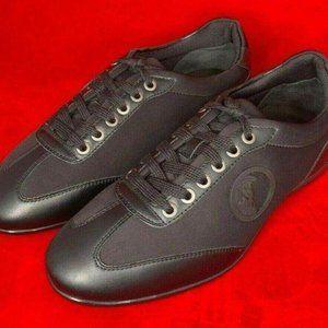 Versace Men's Low Top Sneaker EU 40 US 7 Black